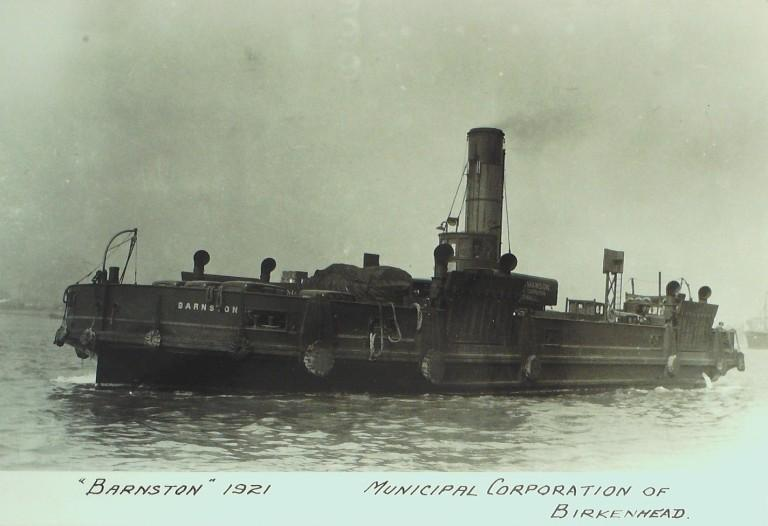 Photograph of Barnston, Birkenhead Corporation card