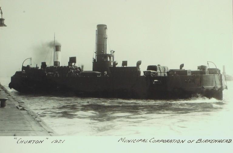 Photograph of Churton, Birkenhead Corporation card