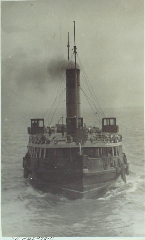 Photograph of Hinderton, Birkenhead Corporation card