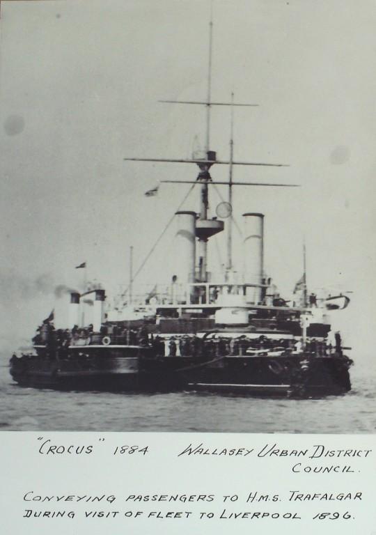Photograph of Crocus, Borough of Wallasey card