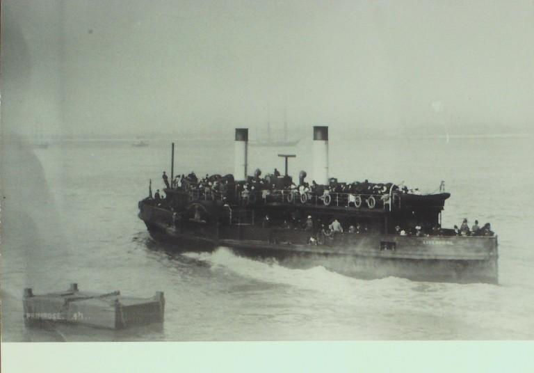 Photograph of Primrose, Borough of Wallasey card