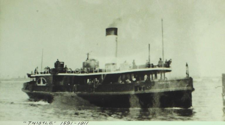 Photograph of Thistle, Borough of Wallasey card