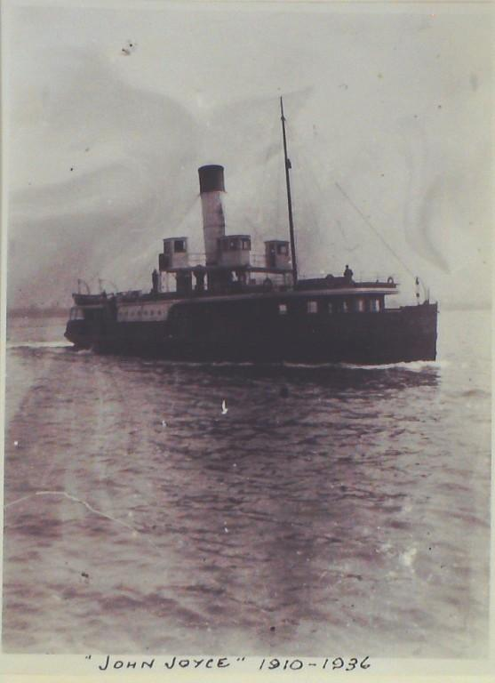 Photograph of John Joyce (ex Bluebell, r/n Shandon), Borough of Wallasey card