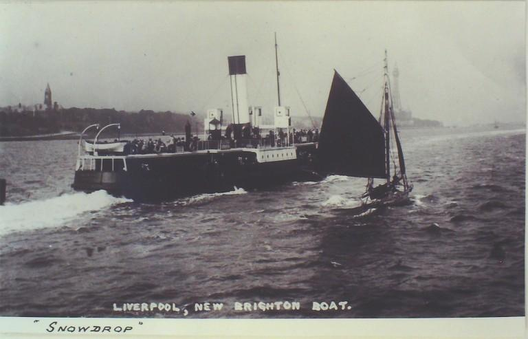 Photograph of Snowdrop, Borough of Wallasey card