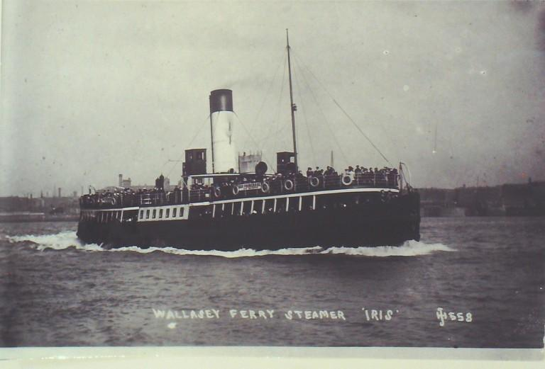 Photograph of Iris, Borough of Wallasey card