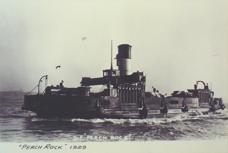 Photograph of Perch Rock, Borough of Wallasey card