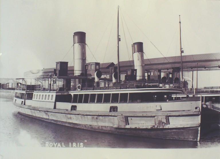 Photograph of Royal Iris (ex Iris), Borough of Wallasey card