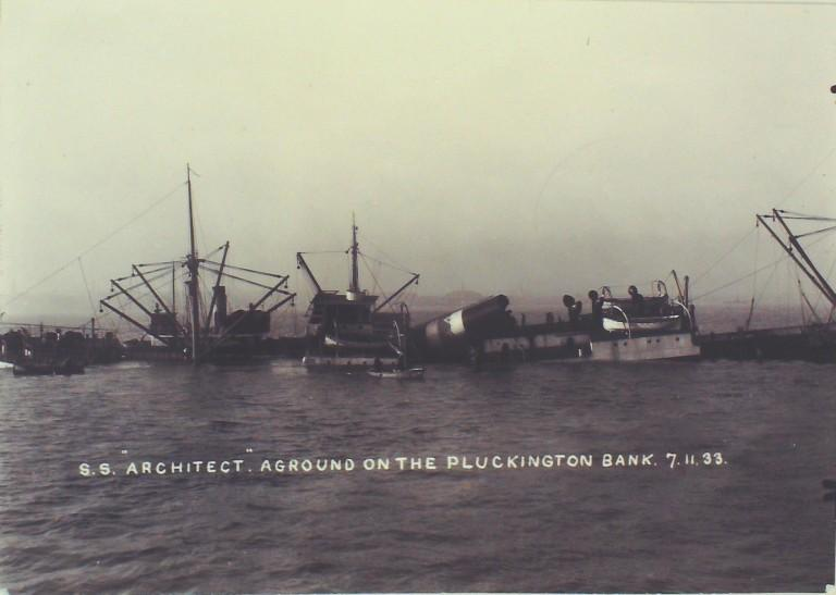 Photograph of Architect, T and J Harrison Ltd card