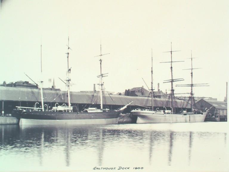 Photograph of Salthouse Dock card