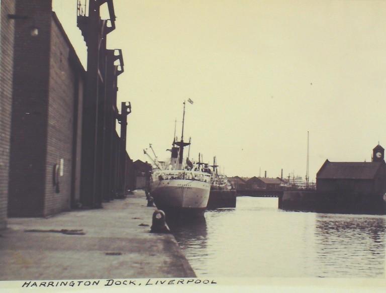 Photograph of Harrington Dock card