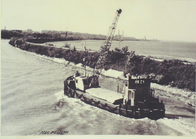 Photograph of Pelican, Manchester Ship Canal Company card