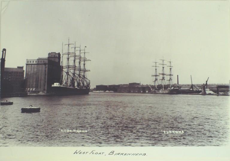 Photograph of West Float Birkenhead card