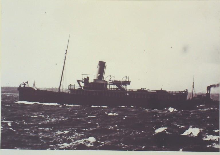 Photograph of Unidentified Vessel card