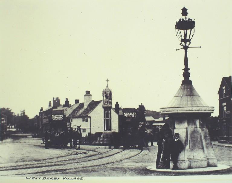 Photograph of West Derby Village card