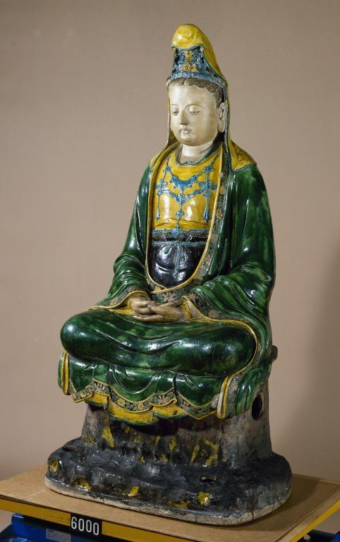 Figure of Guanyin card