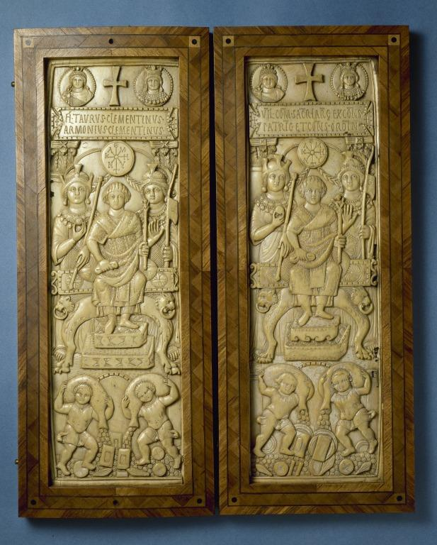 Clementinus Diptych card
