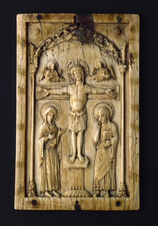 Panel from Crucifixion Triptych card