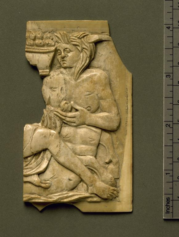 Carved Panel of Nereus card