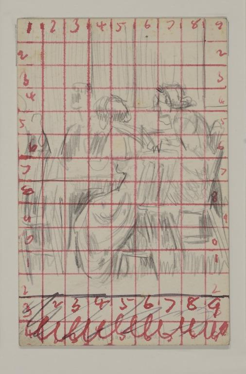 Study for Baccarat card