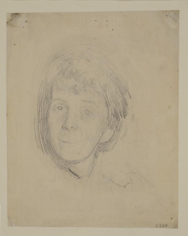 Head of a Woman card
