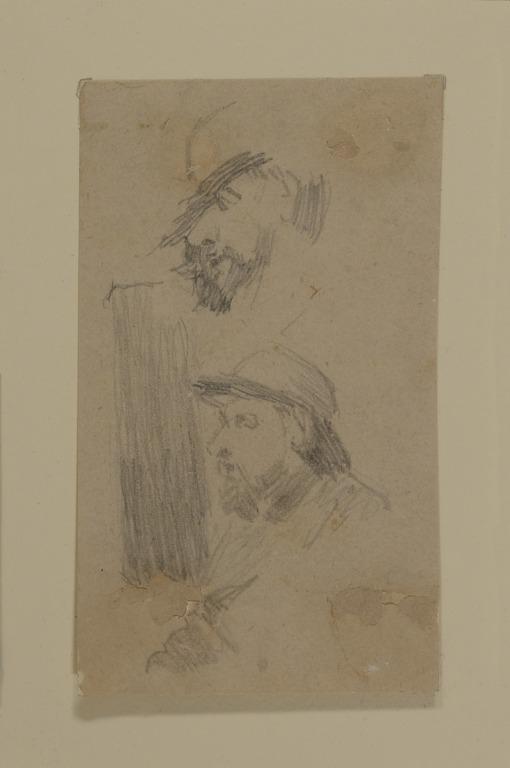 Studies of a Man Wearing a Bowler Hat card