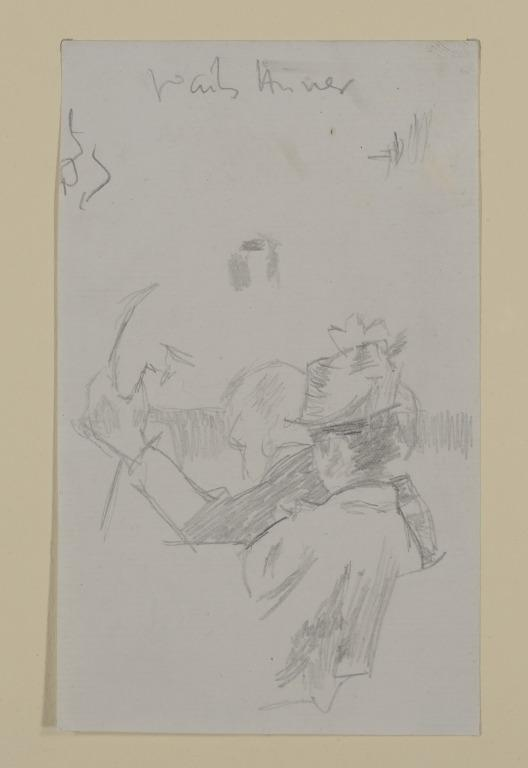 Cellist and Woman in Audience card