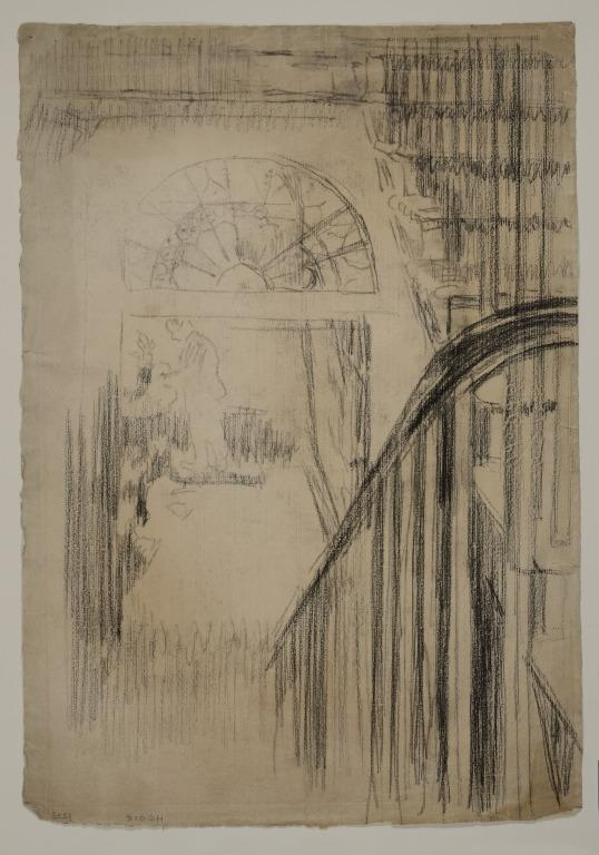Study for Whistler's Studio, Fitzroy Street card