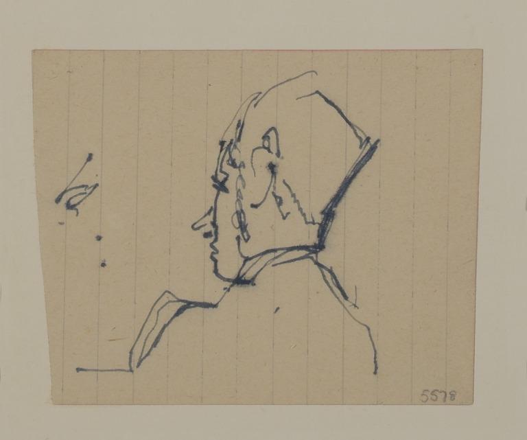 Sir John Pope-Hennessey card