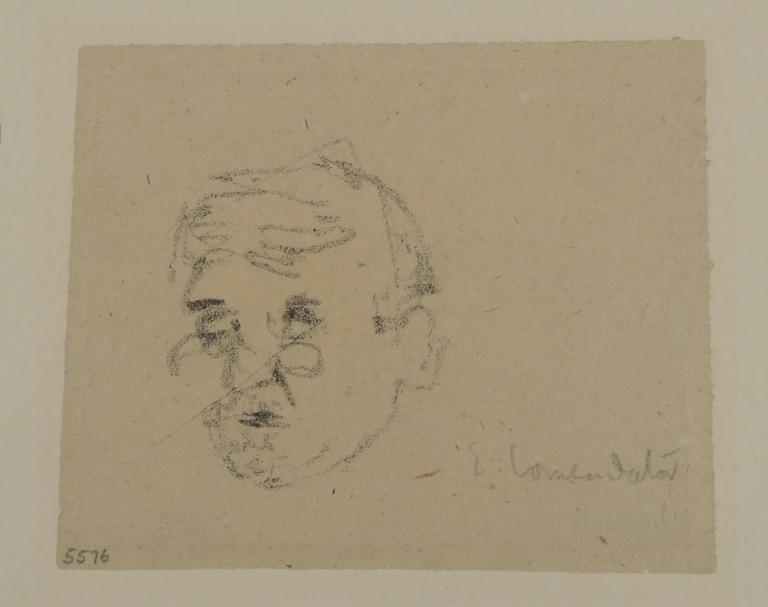 A Man Wearing Pince-Nez card