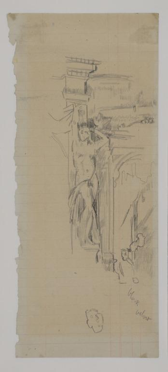 Study of a Box with Nude Plaster Figure (The New Bedford) card