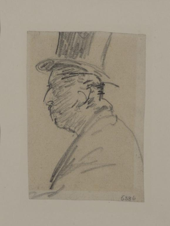 Man in a Top Hat card