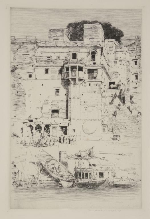 Stone Steps, Benares card