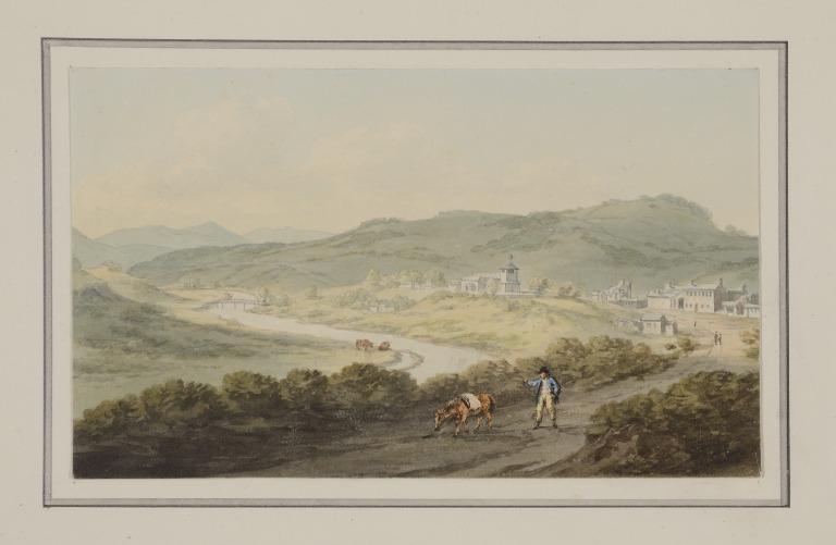 Llanfair, Montgomeryshire card