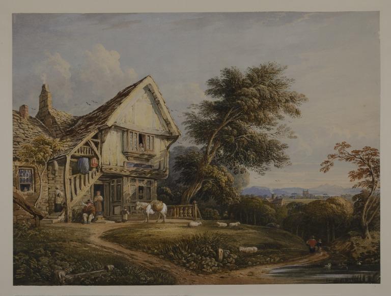 A Wayside Inn card