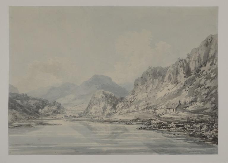 Mountainous Landscape card