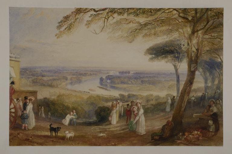 The Thames from Richmond Terrace card