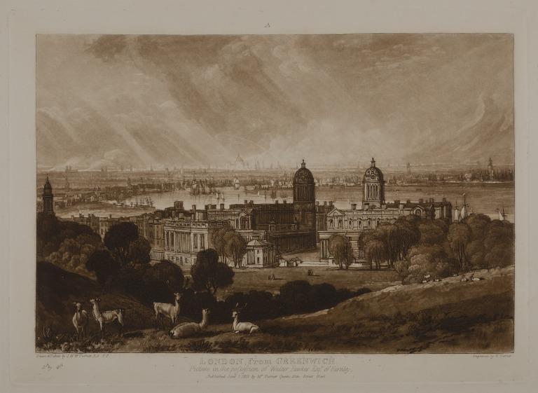 London from Greenwich card