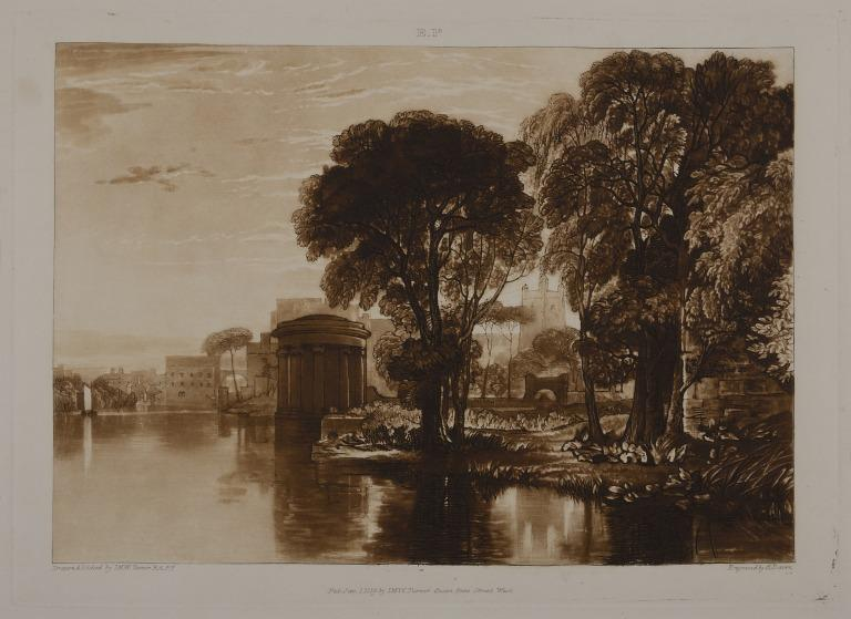 Pope's Villa, Twickenham, card