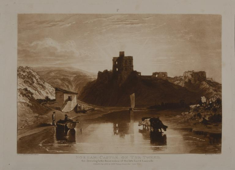 Norham Castle on the Tweed card