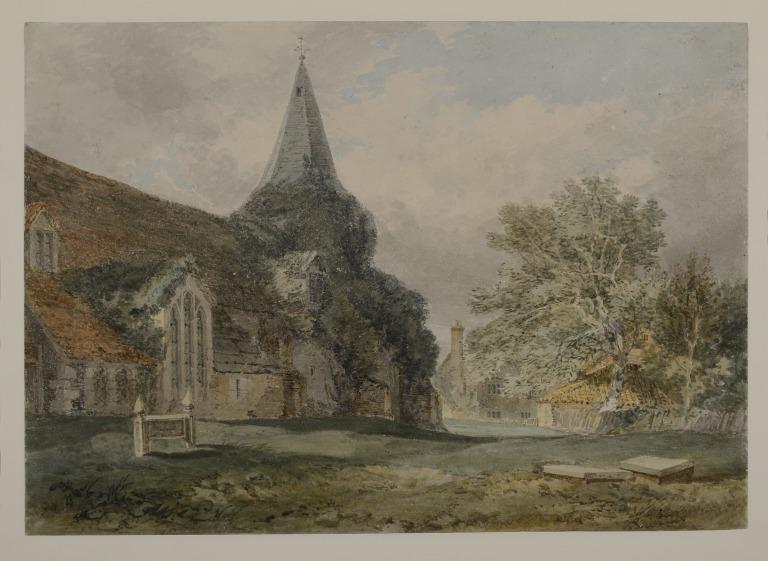 Great Bookham Church, Surrey card