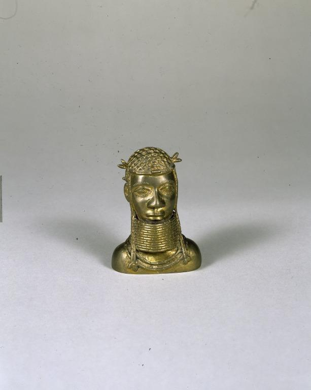 Demonstration Set Showing Four Stages in the Lost Wax Casting Process card