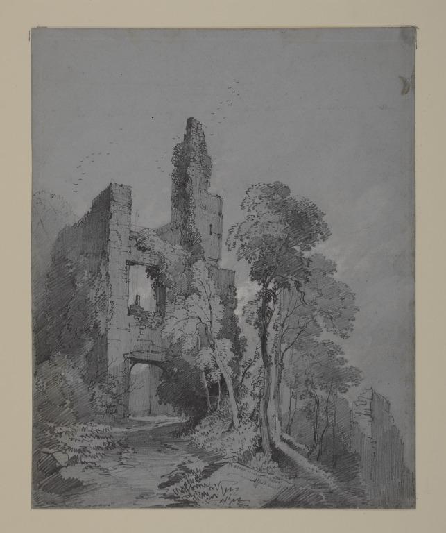 Berry Pomeroy Castle, Devon card