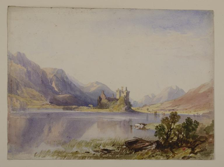 Loch Awe and Kilchurn Castle card