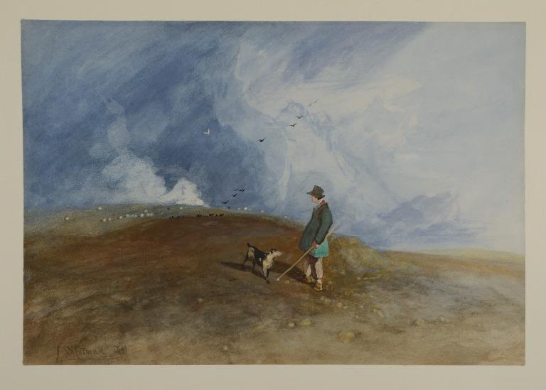 The Shepherd on the Hill card