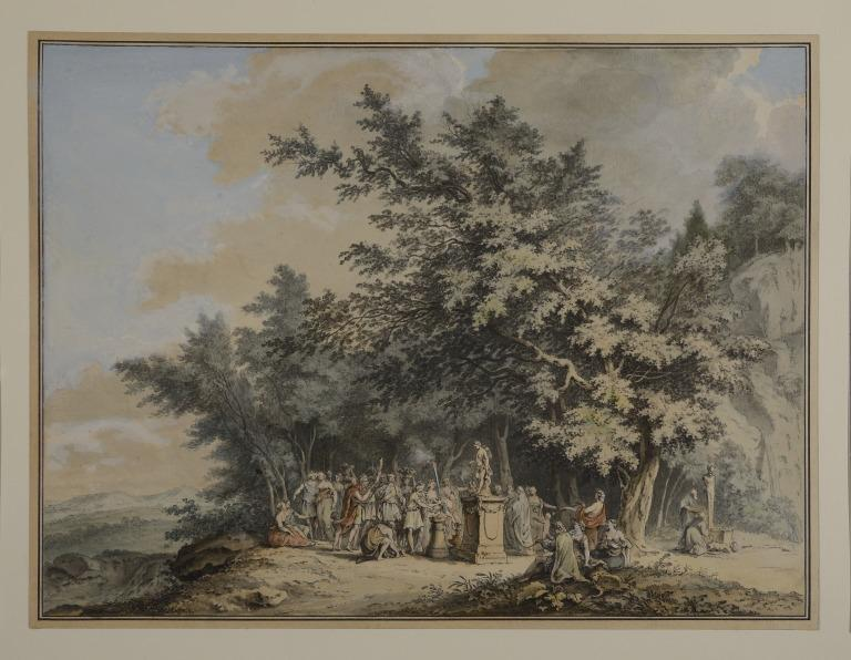 Marriage of Daphnis and Phyllis card