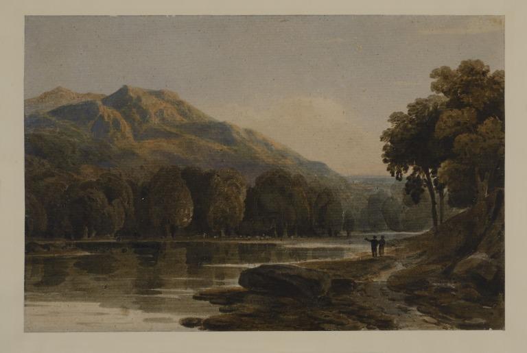 River Scene, Wales card