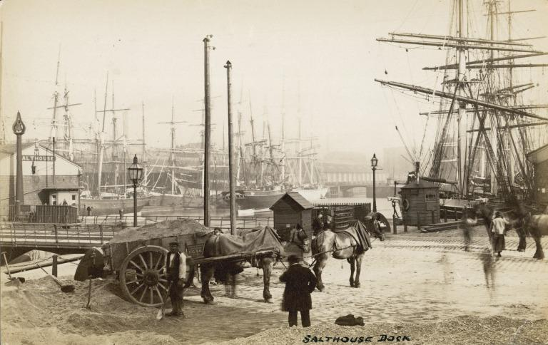 Photograph of Salthouse Dock card