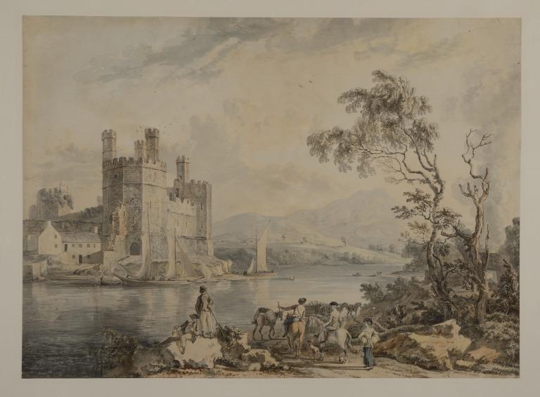 Caernarvon Castle card