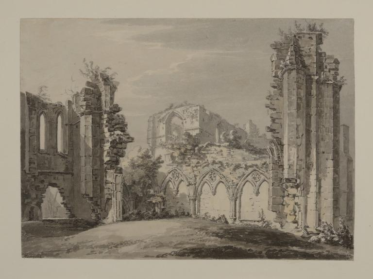 Remains of the Chapter House of Furness Abbey, Lancashire card