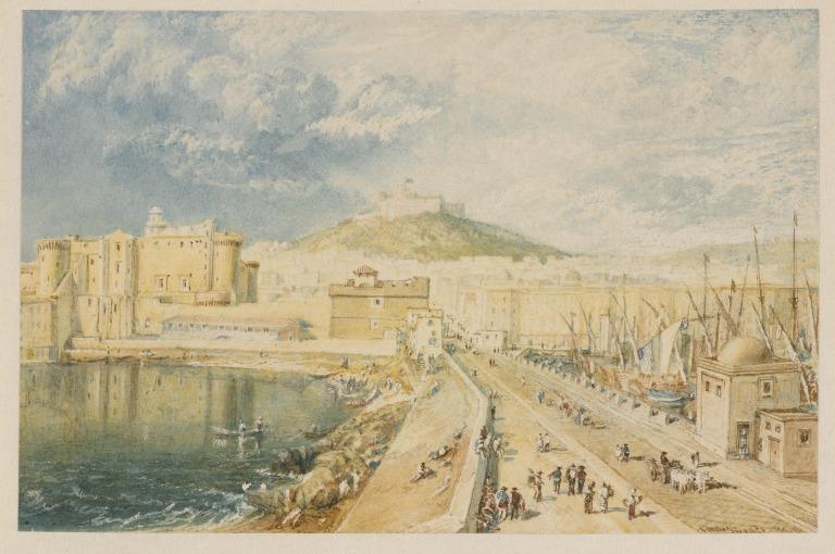 The Old Harbour, Naples card